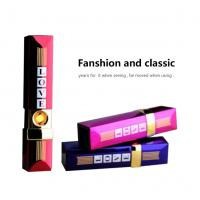 China Electric Windproof USB Rechargeable Lighter Heating Wire Flame For Man wholesale