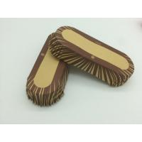 China Oilproof Boat Shaped Paper Baking Cups Brown Cupcake WrappersMuffin Eco Friendly wholesale