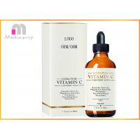 China Vitamin C Organic Face Serum To Fight Age Spots , Dark Circles , Fine Lines And Wrinkles wholesale