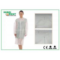 China Hospital Surgical Lab Coats / White Lab Coat For Women , MP Tyvek Materials wholesale