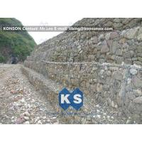 China Strong Welded Gabion Retaining Wall Stone Gabion Box For Roadway Protection wholesale