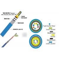 China Reinforced Tactical Cable Optical 2/4/6/8 Cores with Armored Glass Optical Fiber Cable wholesale