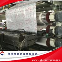 China PVC Marble Sheet Extrusion Line wholesale