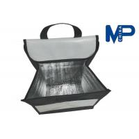 China Square Flat folding lunch cooler bag promotional gift insulated lunch coolers wholesale
