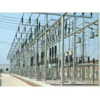 Buy cheap Substation structure, 330KV substation architecture for steel tower from wholesalers