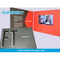 China Pocket Size LCD Video Brochure Card With Usb / Offset CMYK Printing wholesale