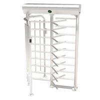 China ZKTECO FHT2300 Full Height Turnstile Wholesale Price Full Height Turnstile Gate Barrier Bidirectional Passage Single Lan wholesale