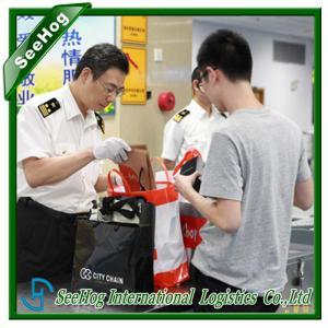 Personal belongings to Shanghai airport customs liquidation &  Import customs agent