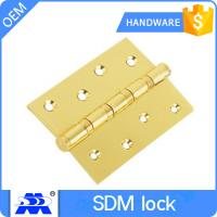 China Brass Stainless Steel Door Hinges Adjustable Customized Size OEM Service wholesale