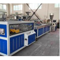 Buy cheap 4 Cavities PVC - U Electric Conduit Pipe Extrusion Machine , Four UPVC Pipe from wholesalers