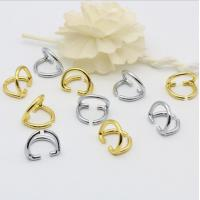 China Design decorative accessory zinc alloy double d rings 15 mm for bags wholesale