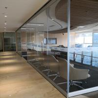 China Glass Divider Screen Movable Office Furniture Partitions Wall For Five Star Hotel wholesale