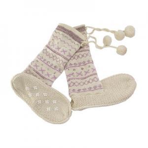 China Young Lady Winter Aloe Infused Spa Socks Non Slip Fashion Desgin wholesale