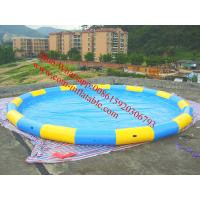 China large inflatable water slide pool best selling inflatable adult swimming pool wholesale