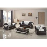 Quality Grey Italian Leather Sofa Set PU Leather Modern Design Various Models for sale