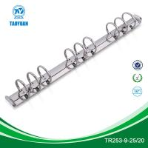 China 10 inches 9 ring binder mechanism, metal binder wholesale