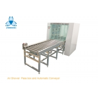 Buy cheap Cleanroom Steel Air Shower Pass Box And Automatic Roller Conveyor from wholesalers