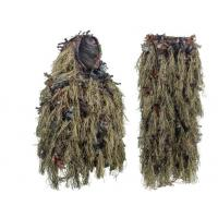 China Light Weight Leafy Hunting Suit Camo Hybrid Woodland Camouflage Ghillie Hunting Suit wholesale