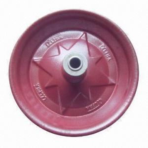 China Steel Wheelbarrow Rim in 13 x 3-inch Size wholesale