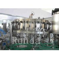 China Customized Carbonated Drink Filling Machine 220V Soft Drinks Filling Machine wholesale