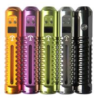 China 5 color 18650 Tesla VV mod with LCD display original mechanical mod with DCT atomizer wholesale