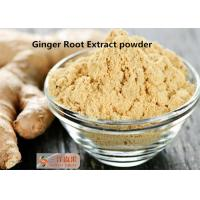 China Remove Toxins Natural Pigment Ginger Root Powder Extract Gingerols 5% 6% 15% wholesale