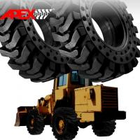China APEX 15.5-25 Solid Tire, Cushion Tyre for Wheel Loader, Integrated Tool Carrier, Elevating Motor Scraper wholesale