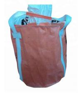China Custom Flexible PP FIBC Jumbo Bags Packing Bulk Cement / Chemical Raw Material on sale