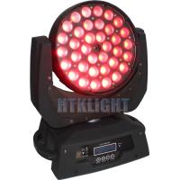 Quality 5in1 36x10w LED Wash Moving Head Built - In Movement Macros , 35*26*35cm for sale