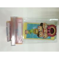 China Clear PVC Waterproof  Phone Bag Plastic Printing Services With Offset CMYK Printing wholesale