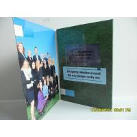 China Best Matt / Glossy Lamination LCD Birthday Card ,  LCD Video Brochure With Pocket wholesale