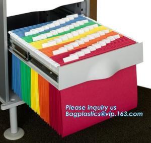 China A4 Paper Brown Kraft Paper File Folder Filling Document Paper Bag,File Folder Printing Promotional Paper Document Bag wholesale