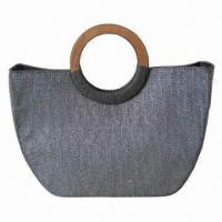 China 2012 design ladies handbag with silver thread, suitable for gift and promotional purposes on sale