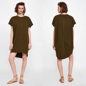China Fashion Women Summer Cotton T-shirt Dress on sale