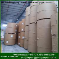 China c1s coated paper white cardboard boxes for making business card wholesale