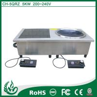 China IPX4 waterproof design standards double induction stove wholesale