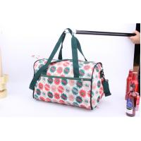 China OEM High Quality Beautiful flower printing cheap luggage for travel or sports wholesale