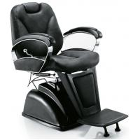 China Custom Leather Classic Salon Barber Chair Recline Backrest , 2*71.5*95-114cm wholesale