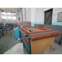 China Two Sides Cold Pressure Formed WPC Door Machine , Seamless MgO Board Production Line wholesale