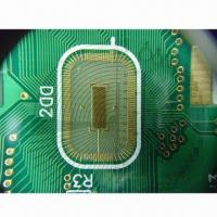 China PCB, 4 Layers Fine Line 0.12mm Spacing ENIG Immersion Gold with Special Control QC wholesale
