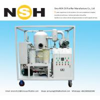 China High Efficiency Vacuum Transformer Oil Filter , Vacuum Oil Purification Machine on sale