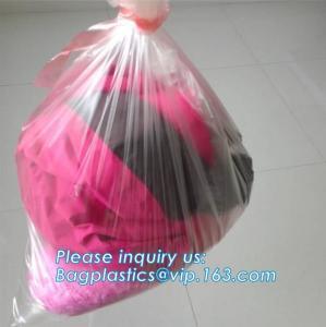 China pva plastic bag with water soluble bags water soluble plastic bag, custom made embossed dissolvable pva bag 35 40 micron wholesale