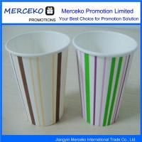 China Any Logo Water Cup Paper Drinking Cups wholesale