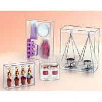 Quality clear printing palstic box for cosmetics package,beautiful cylinder container,gift box for sale
