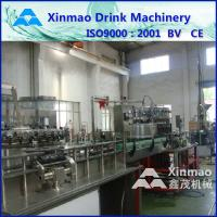 China Cola / Sprite Carbonated Drink Glass Bottle Filling Machine By PLC Control wholesale