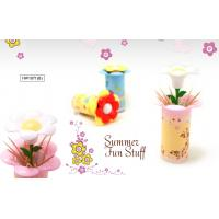 China TOOTHPICKS DISPENSER - FLOWER DESIGN - 3 DIFFERENT COLORS wholesale