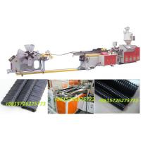 China PP/PE/PVC/PA single-wall corrugated pipe extrusion line for cable protection on sale