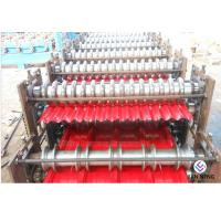 China Color Steel Rolling Machine , Metal Rolling Machine For Making Sheet Roof wholesale