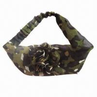 China New Design Military Headband with Floral Decor, Superior Quality wholesale
