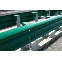China PVC Coating Thrie Beam Highway Guardrail Systems For Traffic Road Protection wholesale